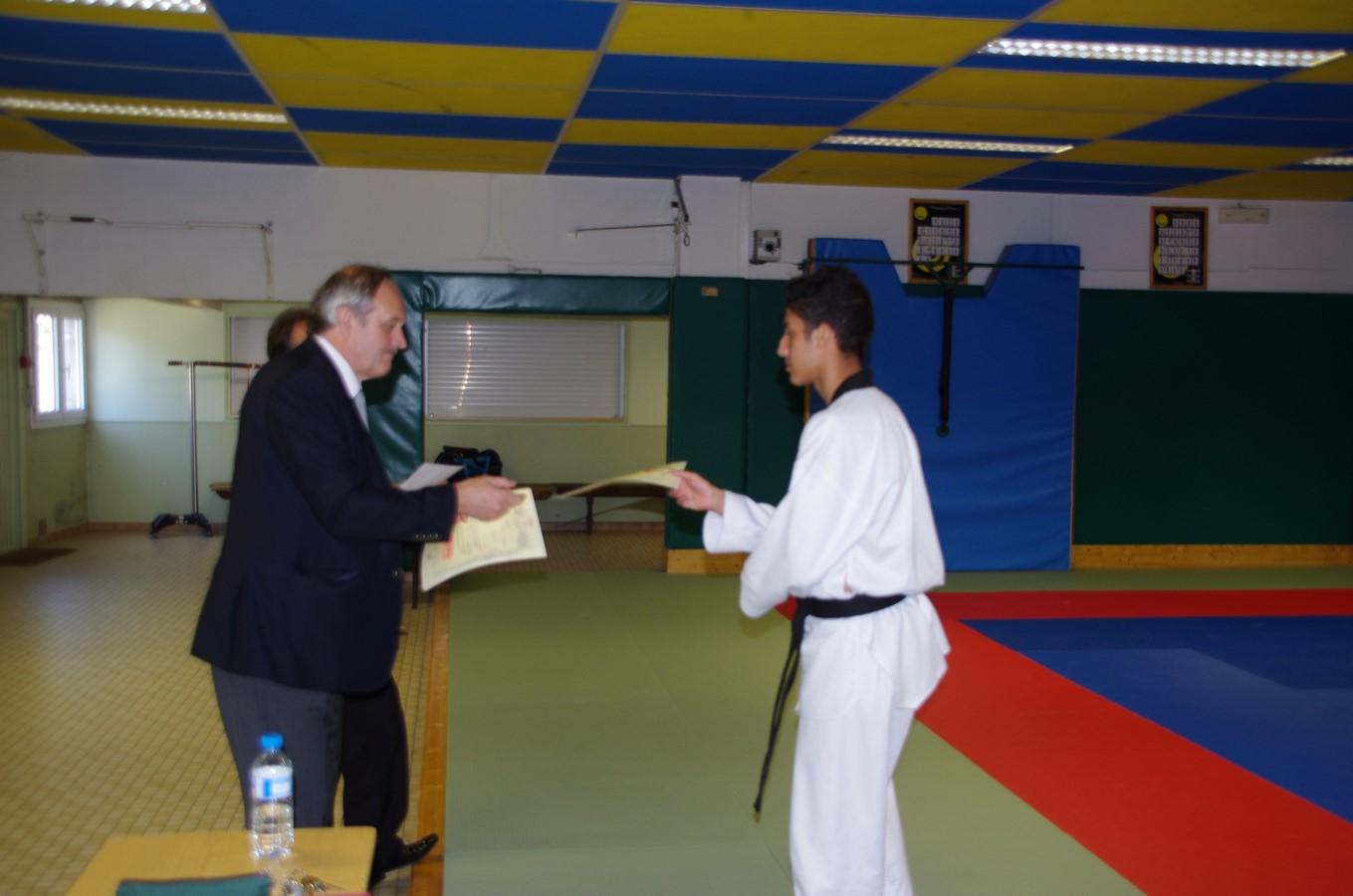 Passage de grade d'Arbitre De Région 2015