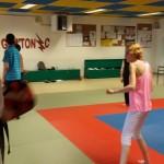 Initiation Taekwondo  à un ESAT (Etablissement Service d\'Aide au Travail)